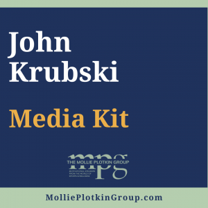 John Krubski Media Kit