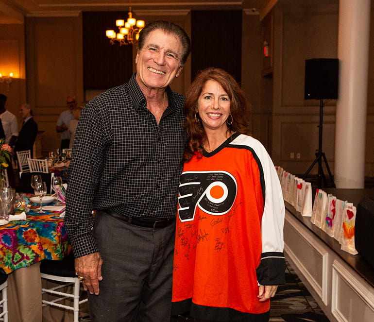 Vince Papale and Mollie Plotkin