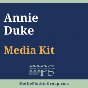 Annie Duke Media Kit