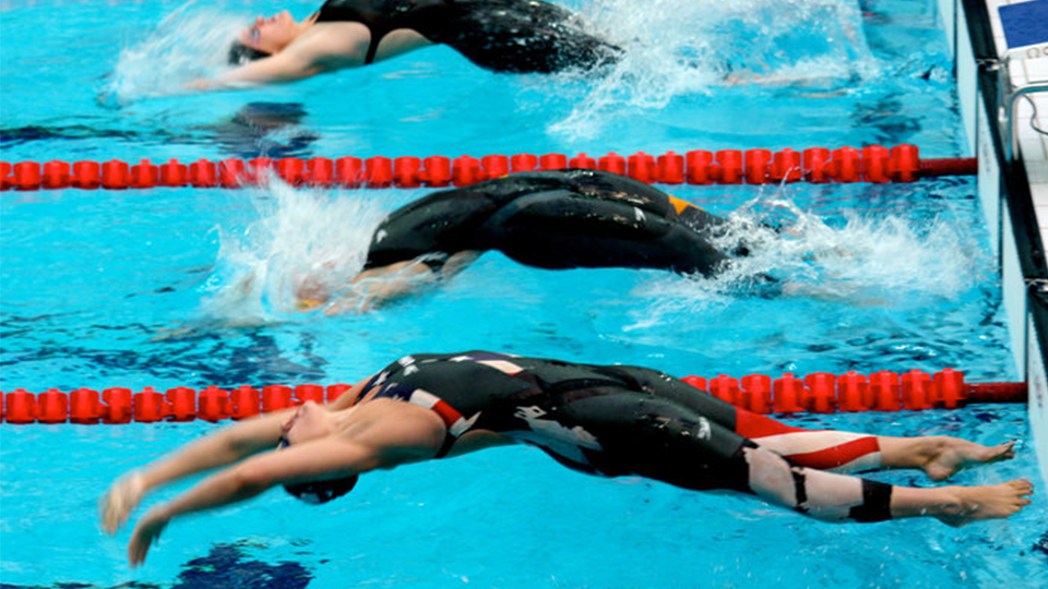 Margaret Hoelzer Swimming in the Olympics